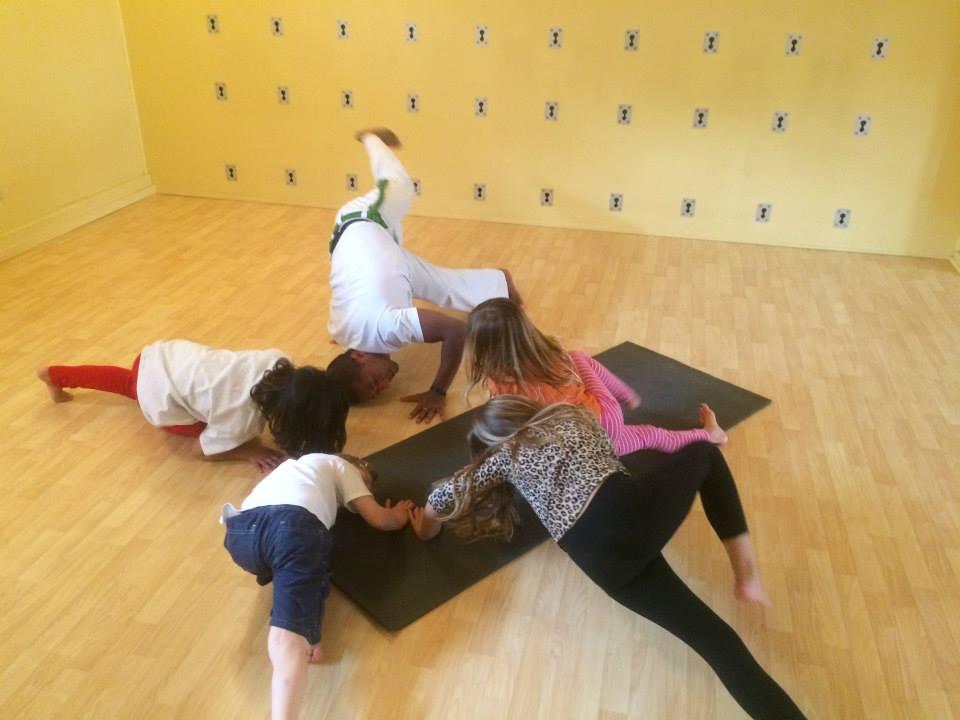 capoeira kids practice
